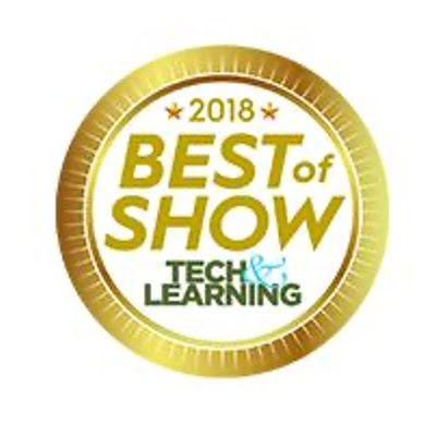Tech & Learning Best of Show 2018